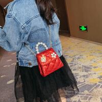 儿童包包新款女童公主时尚手提包链条包小女孩儿童斜挎包