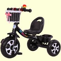 儿童三轮车手推车脚踏车1-3-2-6岁大号车宝宝婴幼儿3轮自行车溜娃车