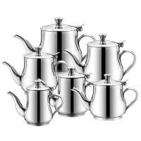 家用加厚油壶不锈钢水壶酱油醋调味壶多用壶带盖倒油瓶厨房油罐
