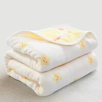 夏季六层纱布毛巾被子单人双人加厚盖毯空调毯子婴儿童毛毯薄定制