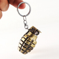 充气打火机 砂轮明火 钥匙扣 创意手雷造型打火机