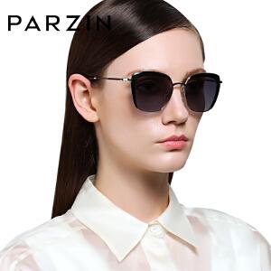 帕森时尚大框偏光太阳镜 女士潮墨镜 司机开车驾驶镜9521
