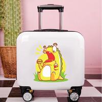 儿童行李箱男可坐可骑16寸卡通拉杆箱女孩18寸可爱旅行箱定制logo