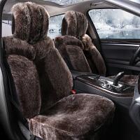纳雪莱 2017新款冬季毛绒汽车坐垫通用座垫毛垫冬季保暖毛绒坐垫车垫