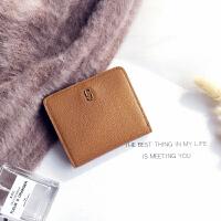 柔软短款钱包女韩版ins新款卡位小零钱包潮
