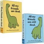 我所有的朋友都死了12 英文原版 All My Friends Are Dead/Still dead 2册 幽默图书