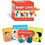英文原版 Baby Love a Board Book Gift Set 4册盒装纸板书 幼儿行为习惯培养 手掌书 儿