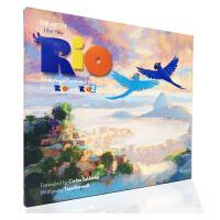 现货 原装进口The Art of Rio and Rio 2 里约大冒险 动画设定集