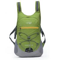 户外背包可折叠轻皮肤包双肩包男女骑行运动旅行登山包18L 18升