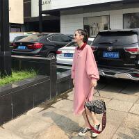 配大衣长裙子气质法国小众娃娃法式复古收腰连衣裙秋冬季