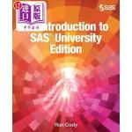 【中商海外直订】An Introduction to SAS University Edition