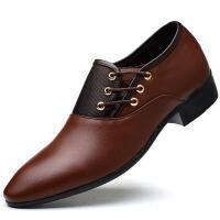 2018新品男士皮鞋商务正装皮鞋男大码男鞋休闲鞋