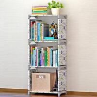 【双十一大促!1件3折】物有物语 简易书架 书柜置物架创意组合层架子落地儿童书架简易置物架