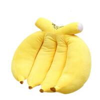 抱枕公仔萌宠长条 爱情公寓同款香蕉毛绒玩具长条抱枕陪你娃睡觉大号公仔懒人可爱女
