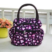 饭盒包手提包便当包饭盒袋子带饭包小布包手提袋女包帆布大号防水