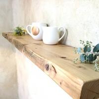 墙上置物架墙壁挂式客厅一字隔板书架 木板厨房实木一字隔板客厅书架