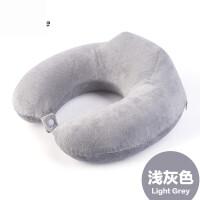 新款户外运动 轻便便携 旅行枕头u型枕护颈枕