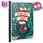 【中商原版】小红狼(插画师艾美莉・弗雷珊作品)英文原版 The Little Red Wolf 绘本小说 Amélie