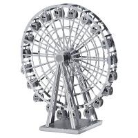 摩天轮】3D微型立体金属模型拼装纳米拼图七夕情人节生日礼