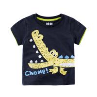 童装夏装儿童短袖T恤纯棉半袖宝宝上衣男童打底衫