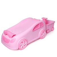 宝宝洗头椅子儿童洗头躺椅小孩洗头床可折叠坐躺加大号洗发架家用ZQ124 +小猪蓝色浴帽