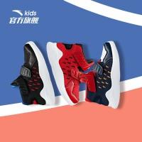 安踏 运动鞋篮球鞋男童新款透气网面鞋子小学生童鞋男2019秋季新品A31939110