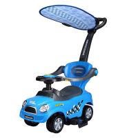 儿童手推学步扭扭车 1-3岁宝宝玩具可坐人滑滑溜溜小车带护栏