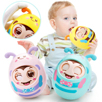 早教益智摇铃女孩男孩玩具婴幼儿儿童婴儿眨眼睛不倒翁大号宝宝