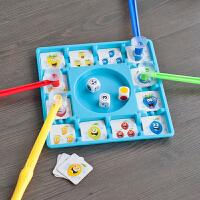 脑力大作战 水果吸吸乐 儿童亲子互动逻辑思维训练益智桌游玩具