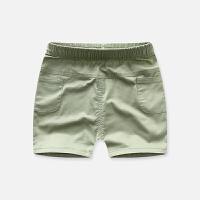 宝宝休闲短裤男童纯色舒适透气裤子夏季儿童童裤裤子