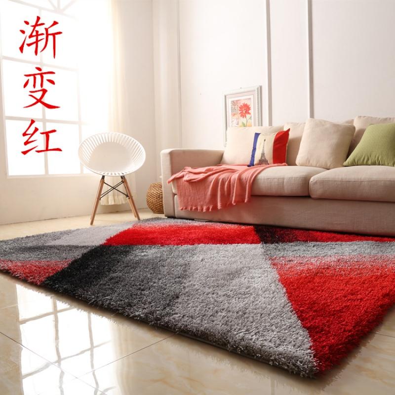 北欧客厅地毯沙发茶几垫子简约现代卧室床边地垫满铺可爱房间家用Y