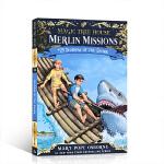 【顺丰包邮】英文进口原版神奇树屋:梅林任务25鲨鱼的阴影 Magic Tree House Shadow of the
