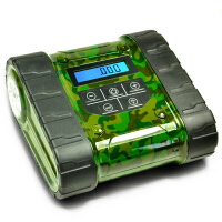 车玛仕(CHEMAS) 坦克造型便携式家用汽车充气泵 数显预设大功率电动充气泵