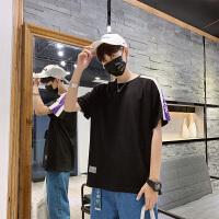 男士T恤夏季韩版宽松男短袖修身圆领体恤半袖上衣服男装打底衫TX19303