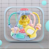儿童女男孩0-1-2-3周岁早教益智宝宝玩具绕珠串珠6-12八个月十婴