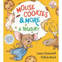 If You Give…系列:Mouse Cookies & More 老鼠饼干故事合集(四个故事,含食谱、歌谱、游戏