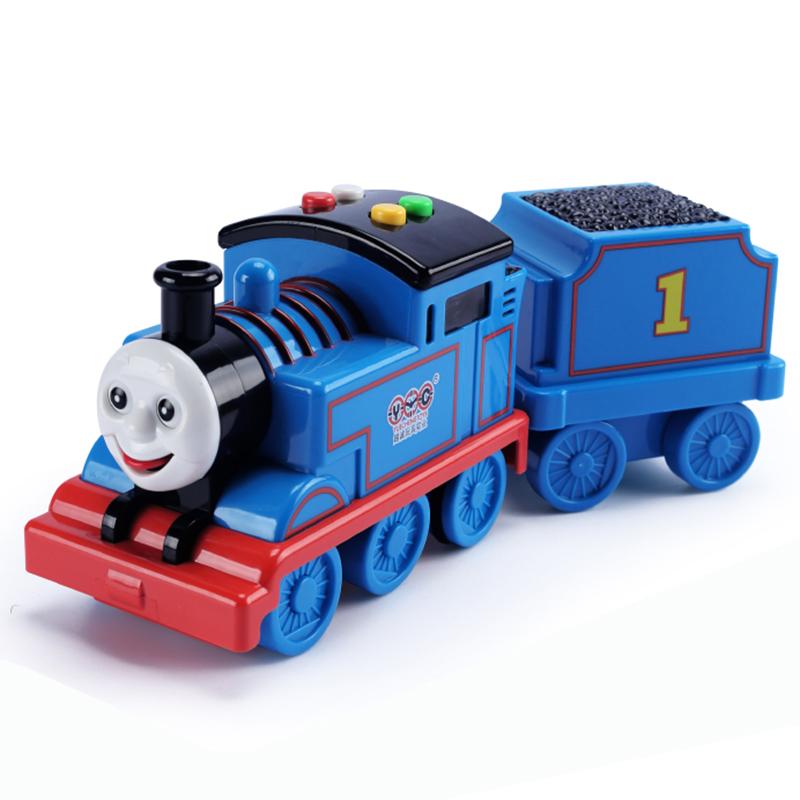 托马斯小火车头带轨道套装宝宝汽车音乐儿童玩具车模型男孩