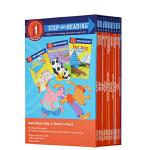 (300减100)【1阶段套装1】Step into Reading Step 1 Set 1 美国兰登分级阅读第一阶