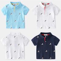 儿童Polo衫宝宝衣服夏季童装男童短袖T恤