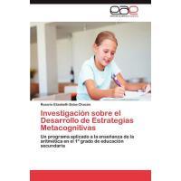 【预订】Investigacion Sobre El Desarrollo de Estrategias Metaco