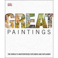 [现货]英文原版Great Paintings世界经典绘画作品探索与图解 DK