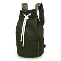新款潮帆布包男包水桶包双肩包运动大容量男士包袋水桶篮球包