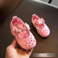 夏季女童凉鞋小童公主儿童鞋女宝宝凉鞋1-3岁2婴儿软底幼儿学步鞋