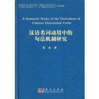汉语名词动用中的句法机制研究