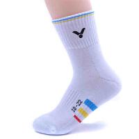 VICTOR胜利 运动袜 男女儿童款 羽毛球袜 童袜SK021 透气排汗保暖