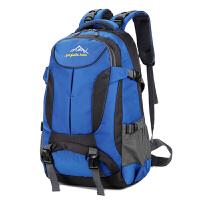 新款男士大容量双肩包登山旅行背包韩版潮女士电脑包旅游双肩背包