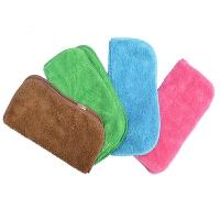 小抹布吸水不掉毛加厚双层珊瑚绒保洁专用清洁搞打扫卫生韩国方巾