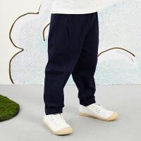 【秒杀价:105元】马拉丁童装男大童裤子春装2020年新款休闲百搭儿童针织长裤