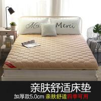 软床垫学生床褥床垫床褥子海绵保护垫地铺防滑单双人榻榻米定制