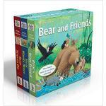 【预订】Bear and Friends: Bear Snores On; Bear Wants More; Bear